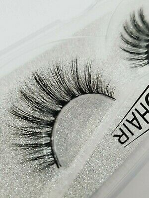 Luxury Mink False Eyelashes Long Thick Wispy Strip Lashes Miami Dupes 052 MakeUp