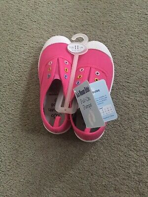 Jojo Maman Bebe Pull On Pumps Shoes Infant Size 11