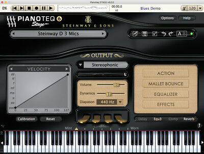 NEW Pianoteq 6 Stage Virtual Piano Sampler PC/MAC