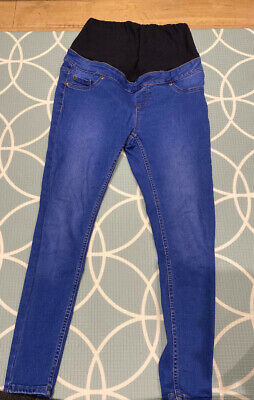 Women's Maternity Over The Bump Emilee Jeggings New Look Size 10