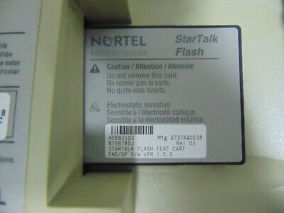 Nortel Norstar StarTalk Flash Voicemail Cabinet