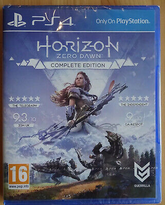Horizon Zero Dawn PlayStation 4 PS4 Complete Edition - NEW & SEALED