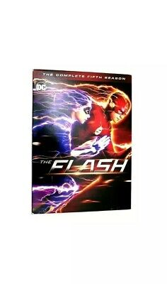 The Flash: The Complete Season 5 (DVD, 2019, 5-Disc set)