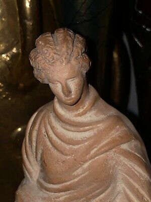 A Boeotian Tanagra Greek Terracotta Lady - Ancient Art & Antiquities