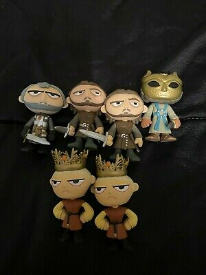 Funko Mystery Mini Game of Thrones Joffrey, Son of Harpy, Stannis, Bronn