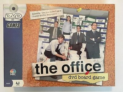 The Office DVD Board Game 2008 Trivia BRAND NEW Factory Sealed *FLAW READ BELOW*