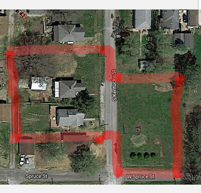 2 Homes/1 Garage/3 Vacant Lots: Selling all together: Illinois. Motivated Seller