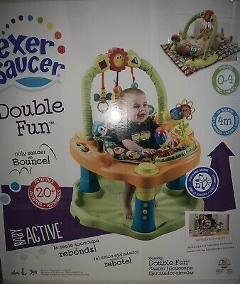 Evenflo Exersaucer Double Fun Bouncing Activity Saucer, Bumbly M
