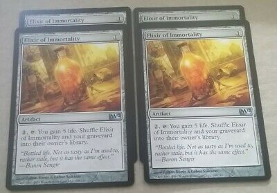 MTG Magic the Gathering Card x4: 2012 Core Set: Elixir of Immortality LP/NM