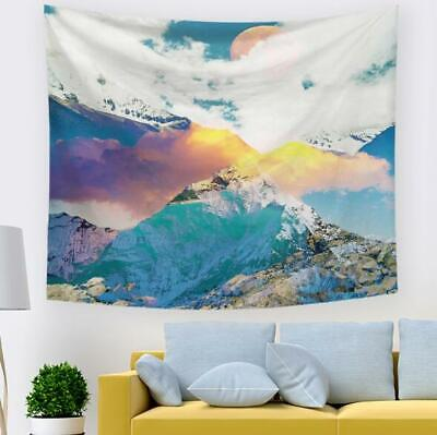 3D Snow Mountain R214 Tapestry Hanging Cloth Hang Wallpaper Mural Photo Zoe