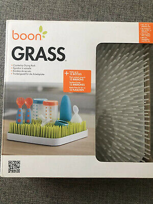 Boon Grass Countertop Drying Rack For Baby Bottle And Feeding Items