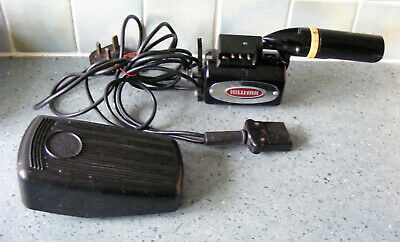 Vintage Singer Sewing Machine Motor Lamp And Speed Control Pedal Working
