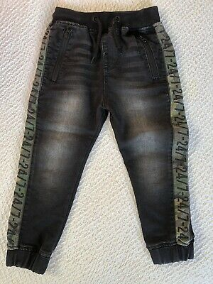 Boys Black Next Jeans/ Joggers Age 5 Years