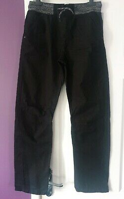 Boys Black Jeans Trousers Aged 12