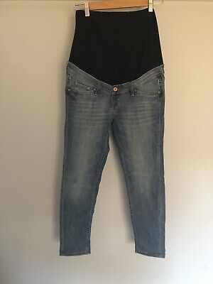 H&M Skinny Ankle Maternity Jeans Size 38