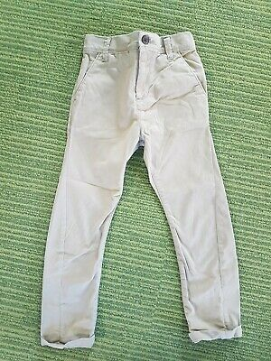Boys beige chinos by Next age 5