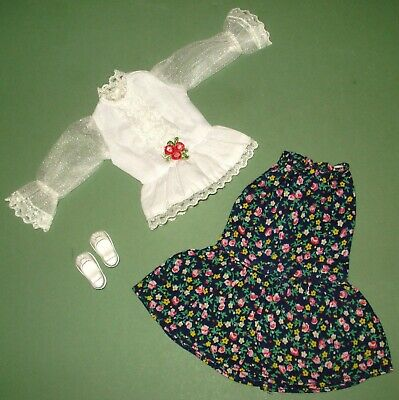 Vintage Pedigree Sindy Fine And Fancy Complete Outfit 1981