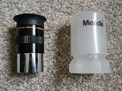 Meade Super Plossl 20mm Multi-Coated telescope eyepiece Series 4000.