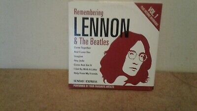 "Sunday Express  "" Rememering John Lennon & The Beatles Two Cd Collection"