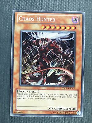 Chaos Hunter STOR Secret Rare - Yugioh Cards #1OZ