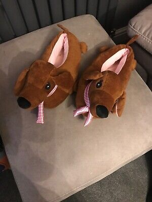 Dachshund Sausage Dogs Fun Novelty Funny Slippers