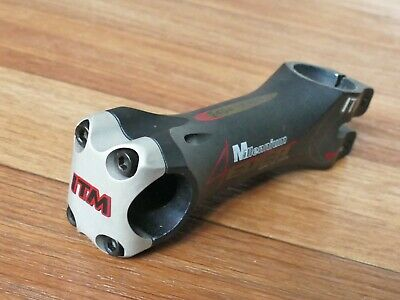 "ITM Millenium 4Ever Stem 110mm 25.4mm Clamp 1 1/8"" Road Racing Bike Italy"