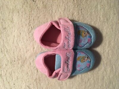 Young girls slippers Disney Cinderella size 9