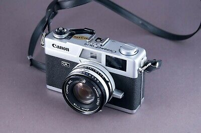Canon Canonet QL19 Rangefinder Film Camera Tested
