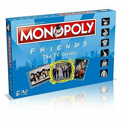 Monopoly Friends Edition Board Game The Tv Series New Sealed