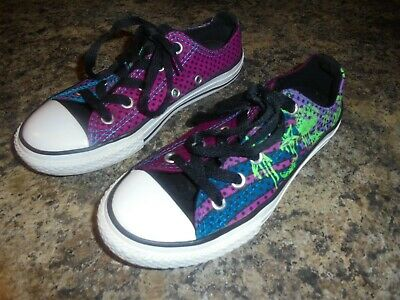 Converse All Star Basketball Junior Sneakers Uk Kids Size 12.5 Limited Edition