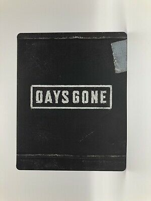 Days Gone PS4 Collector's Limited Edition Steelbook Case w/ Soundtrack Sony Bend