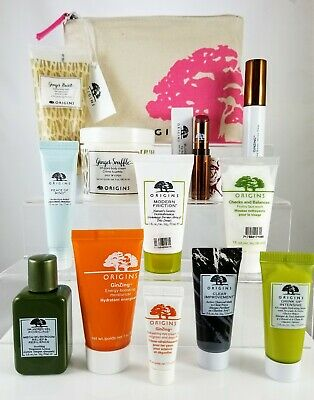 Origins 12Pc Haul Ginger Burst Ginzing Clear Improvement Peace of Mind Mascara +