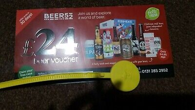 BEER52 Voucher coupon promo code Save £24 Beer at your home paying just postage