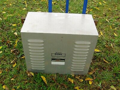 Ronk 240 volt 5 to 7.5 HP ADD-A-PHASE Static Phase Converter Model 80A Type 2S