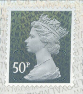 GB NEW 2019 SBP2i M19L WALSALL 50p COLOUR SINGLE CYL BLK MACHIN SHEET DEFINITIVE