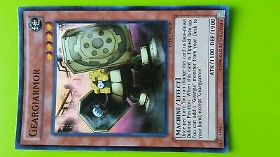 Geargiarmor Earth Machine Effect Holo Rare Holographic Yugioh Trading Card Game