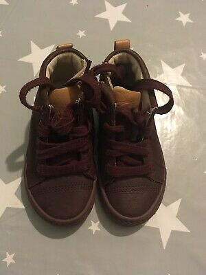 baby girls clarks shoes boots size 5 1/2 F vgc