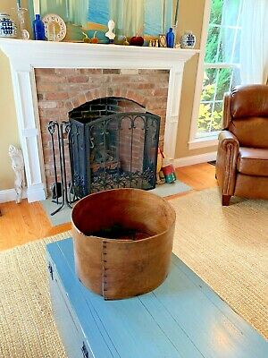 HUGE Antique Pantry Box Grain Measure Wooden Wood Rustic Primitive Kitchen 16""