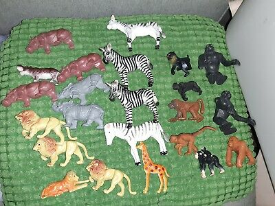Lot Of 23 Animal Toys