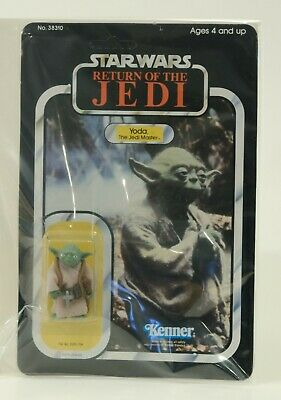 Yoda Unpunched - Star Wars Return of the Jedi - MOC ROTJ 1983 Vintage Kenner