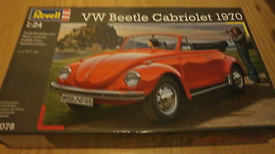 Revell 07078  VW Beetle Cabriolet 1970  1/24 scale.