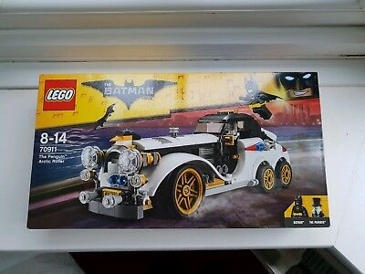 The LEGO Batman Movie: The Penguin Arctic Roller 70911. NEW AND A great deal