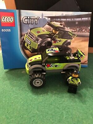 LEGO CITY 60055 'MONSTER TRUCK'  vgc 100% Complete With Box