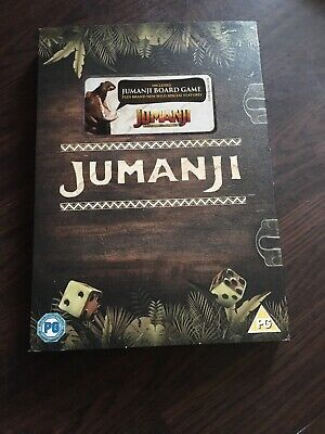 Jumanji DVD Special Edition With Board Game
