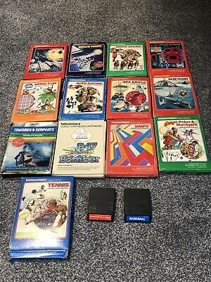 Bundle of 17 Intellivision games