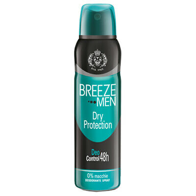 Breeze Men Deodorante Spray Dry Protection 150 Ml