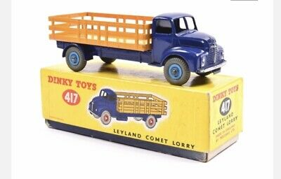 - Reproduction Box by DRRB Leyland Forward Control Lorry Dinky #420 red 25r
