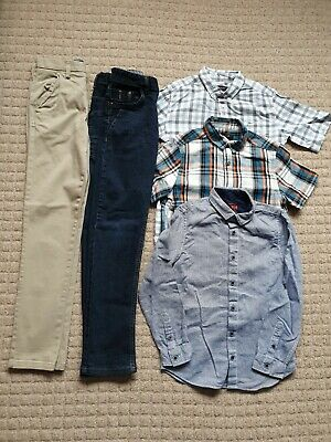 Boys Age 8-9 Years River Island Shirts, Tu Jeans & NEXT Chinos Clothes Bundle