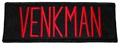 Ghostbusters Movie Venkman Name Tag Embroidered Iron on Patch