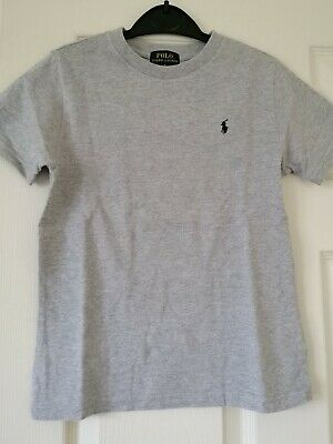 Polo Ralph Lauren Silver Grey boys T- shirt age 6 years